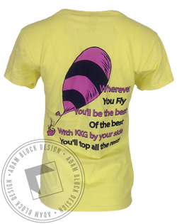 Kappa Kappa Gamma Dr Seuss Recruitment VNeck-Adam Block Design