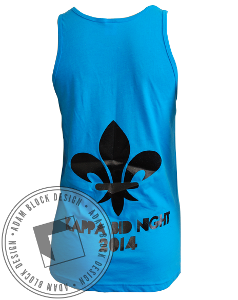 Kappa Kappa Gamma Drop It Tank-Adam Block Design
