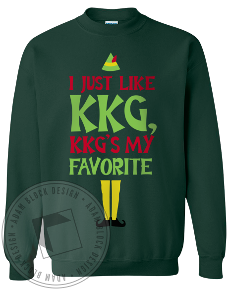 Kappa Kappa Gamma Favorite Sweatshirt-gallery-Adam Block Design