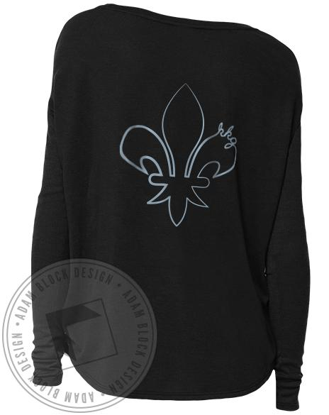 Kappa Kappa Gamma Fleur Long Sleeve-Adam Block Design