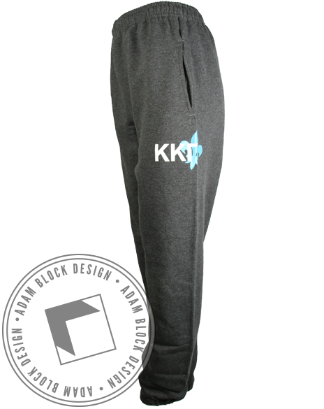 Kappa Kappa Gamma Fleur Sweatpants-Adam Block Design