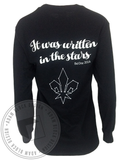 Kappa Kappa Gamma Galaxy Stars Long Sleeve-Adam Block Design