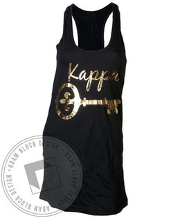 Kappa Kappa Gamma Golden Key Dress-Adam Block Design