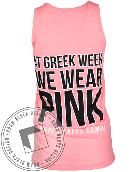 Kappa Kappa Gamma Greek Week Tank-gallery-Adam Block Design