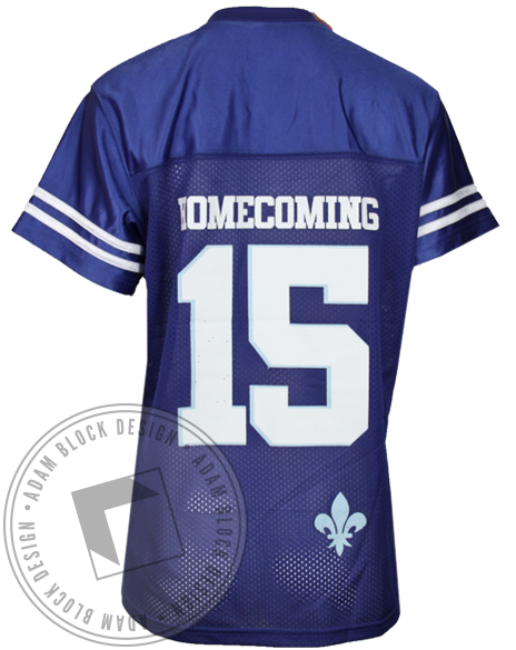 Kappa Kappa Gamma Homecoming Football Jersey-Adam Block Design