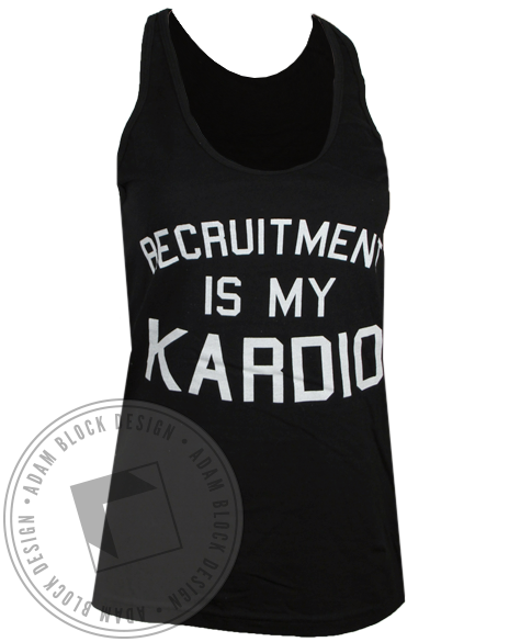 Kappa Kappa Gamma Kardio Tank Top-gallery-Adam Block Design