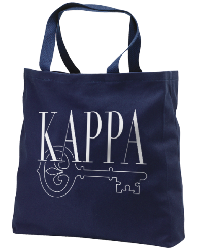 Kappa Kappa Gamma Key Custom Tote-gallery-Adam Block Design