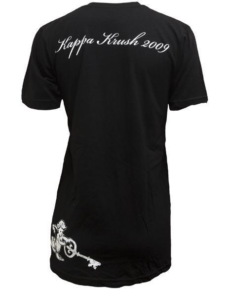 Kappa Kappa Gamma Key To My Heart V-neck-gallery-Adam Block Design