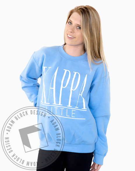 Kappa Kappa Gamma Little Sweatshirt-Adam Block Design