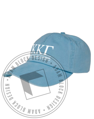 Kappa Kappa Gamma Name Baseball Hat-gallery-Adam Block Design