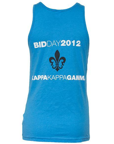 Kappa Kappa Gamma New Bids Tank-Adam Block Design