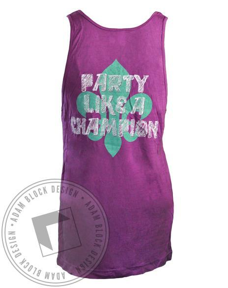 Kappa Kappa Gamma No Excuses Tank-Adam Block Design
