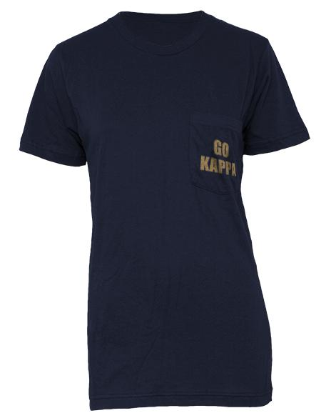 Kappa Kappa Gamma Not For Me Pocket Tee-Adam Block Design