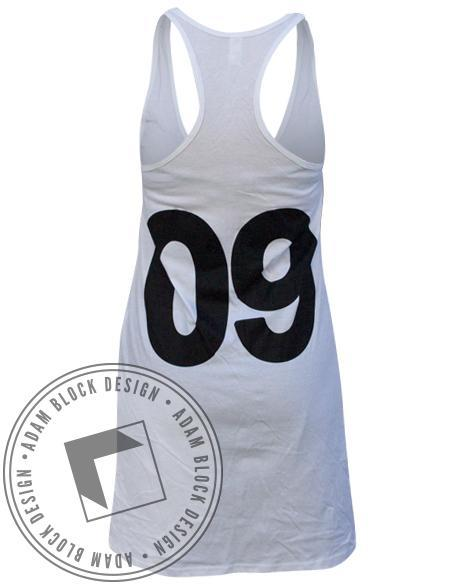 Kappa Kappa Gamma Racerback Dress-Adam Block Design