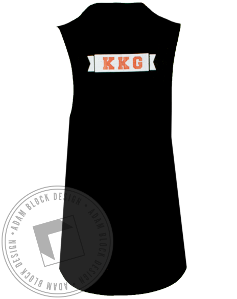 Kappa Kappa Gamma Seniors Football Tank Top-Adam Block Design