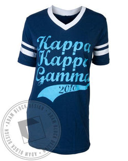 Kappa Kappa Gamma Sports Tee-gallery-Adam Block Design