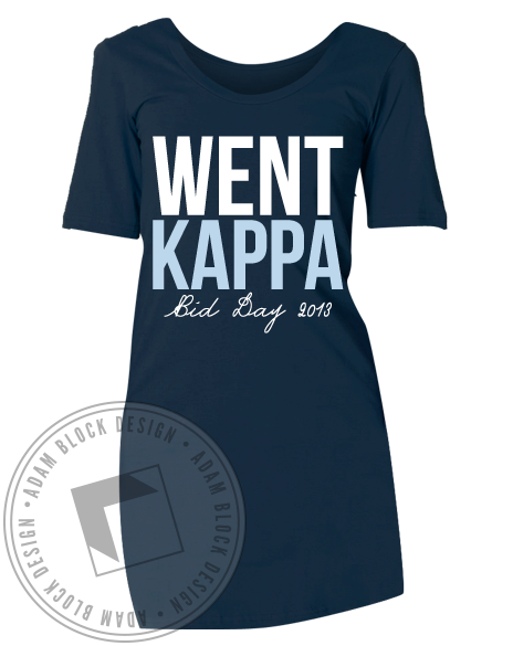 Kappa Kappa Gamma Bid Day Dress-Adam Block Design
