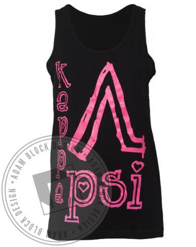 Kappa Lambda Psi Name Tank-Adam Block Design