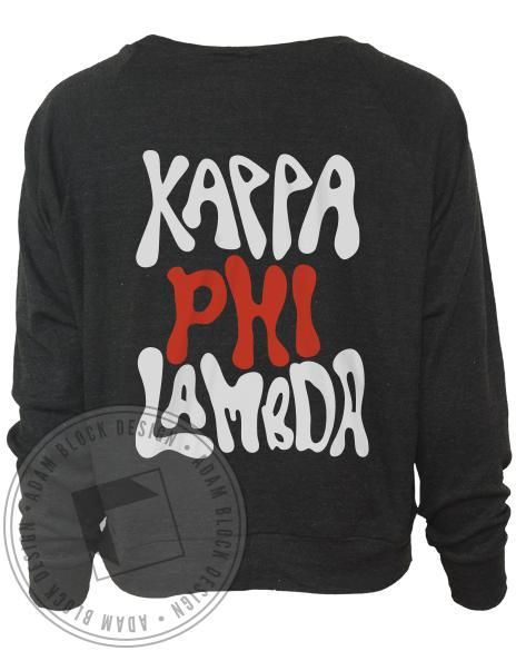 Kappa Phi Lambda Hamsa Raglan Long Sleeve-Adam Block Design