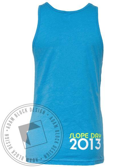 Kappa Phi Lambda Slope Day Llama Tank Top-Adam Block Design