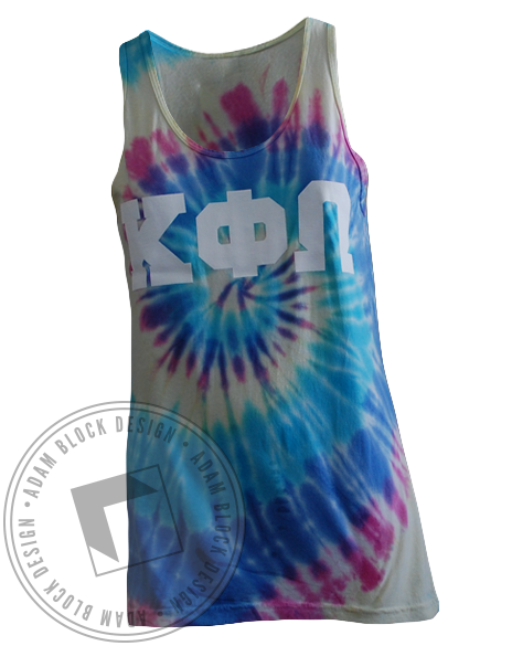 Kappa Phi Omega Bid Day Tank-Adam Block Design