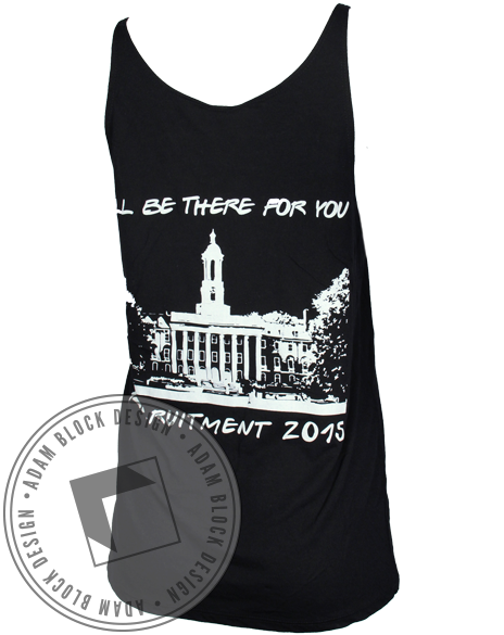 Kappa Phi There For You Tank-gallery-Adam Block Design