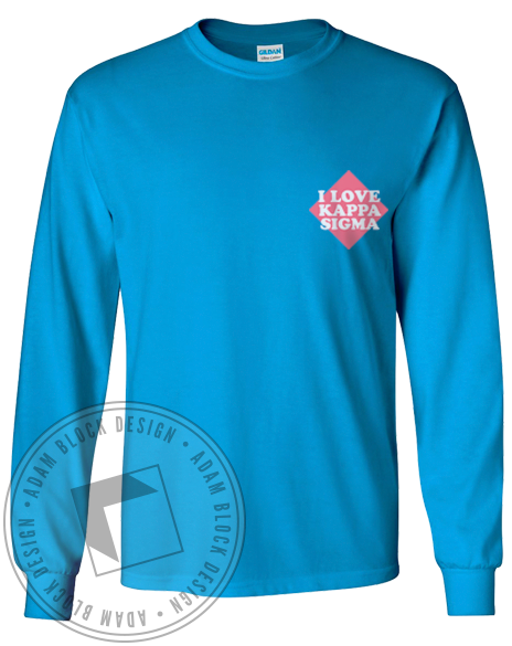 Kappa Sigma Guys Longsleeve-gallery-Adam Block Design