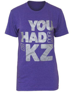 Kappa Zeta You Had Me Shirt-Adam Block Design