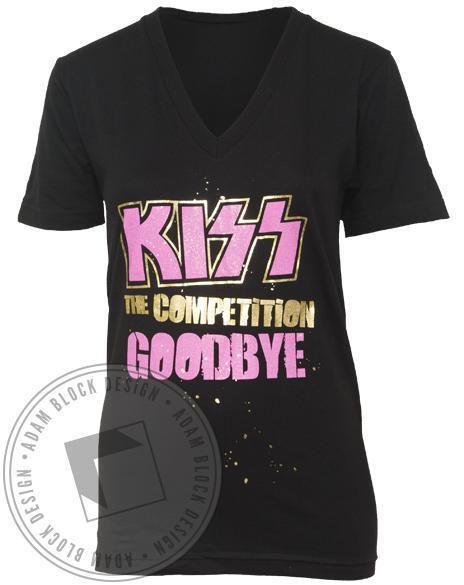Kiss the Competition Goodbye V-neck-gallery-Adam Block Design