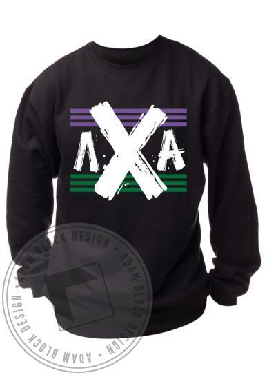 Lambda Chi Alpha Flag Sweatshirt-gallery-Adam Block Design