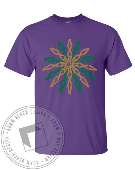 Lambda Chi Alpha Geometric Tee-Adam Block Design