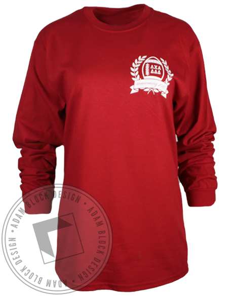 Lambda Chi Alpha Homecoming Longsleeve Shirt-gallery-Adam Block Design