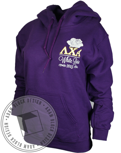 Lambda Chi Alpha Lion Hoody-gallery-Adam Block Design