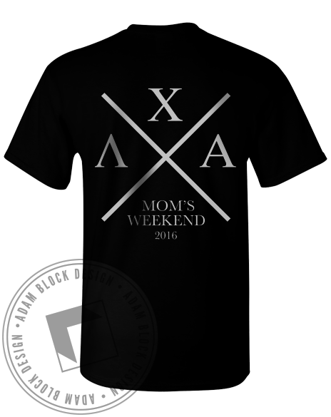 Lambda Chi Alpha Mom's Day Tee-Adam Block Design