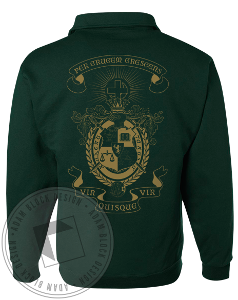 Lambda Chi Alpha Mom's Weekend Halfzip-gallery-Adam Block Design