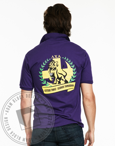 Lambda Chi Alpha Rush Polo-gallery-Adam Block Design