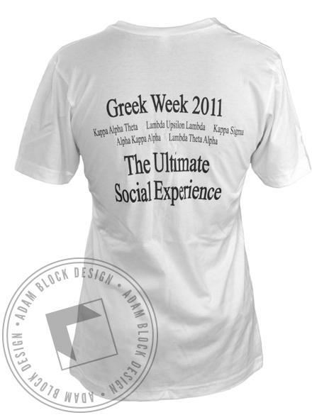 Lambda Theta Alpha Beauty & the Greek V-Neck-gallery-Adam Block Design