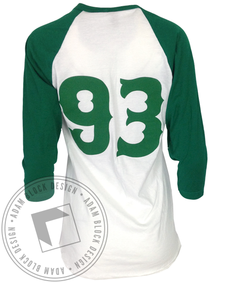 Let's Get Lucked Up Baseball Tee-Adam Block Design
