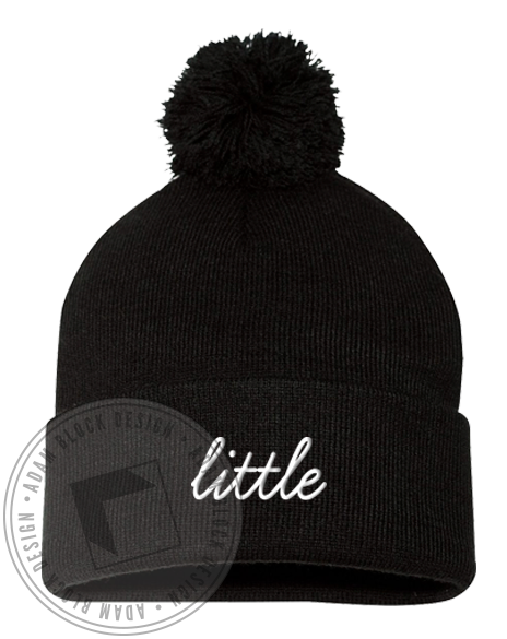 Little Sis Beanie-Adam Block Design