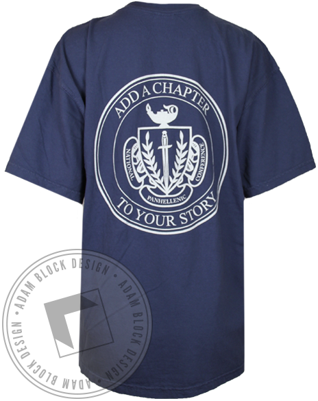 National Panhellenic Conference Add a Chapter Shirt-gallery-Adam Block Design