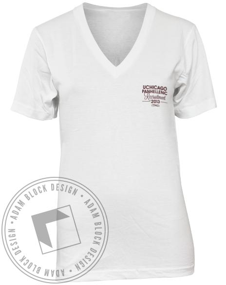 National Panhellenic Conference Gave Up Our Letters V-neck-Adam Block Design