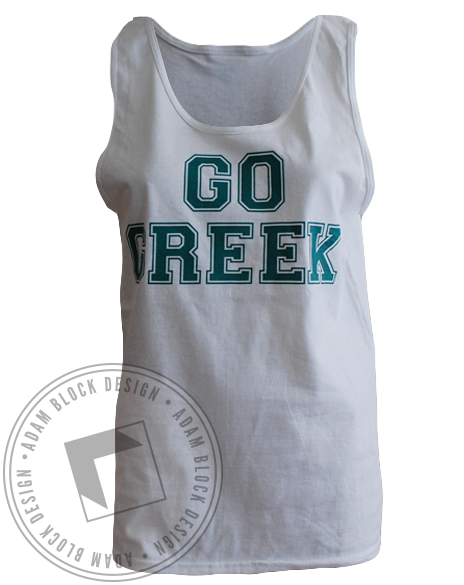National Panhellenic Conference Go Greek Tank-gallery-Adam Block Design
