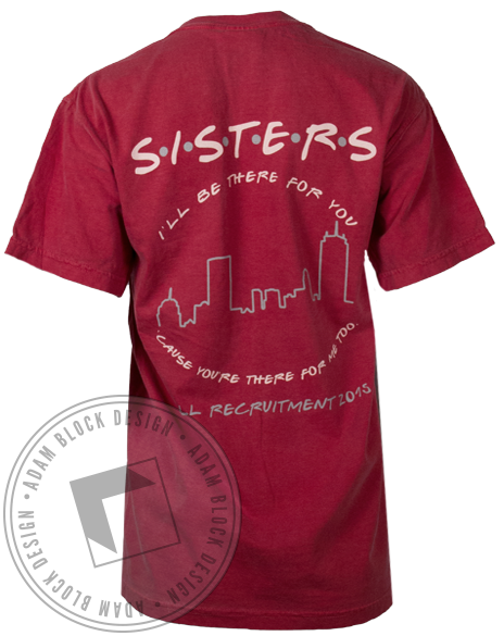 National Panhellenic Conference Sisters Tshirt-gallery-Adam Block Design