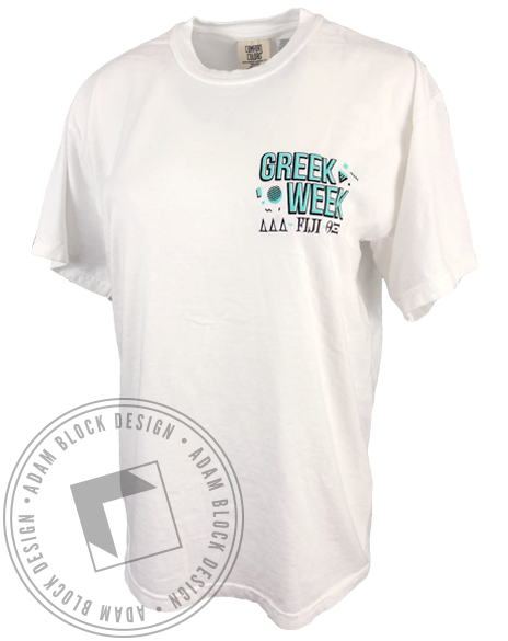 Old School Greek Week T-shirt-gallery-Adam Block Design