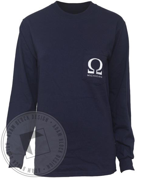 Order of Omega Kaplan Long Sleeve Tee-gallery-Adam Block Design