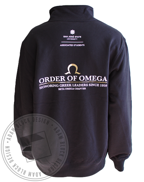 Order Of Omega San Jose Zip Up-gallery-Adam Block Design