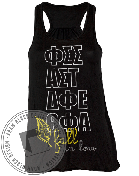 Panhellenic Fall In Love Tank-gallery-Adam Block Design
