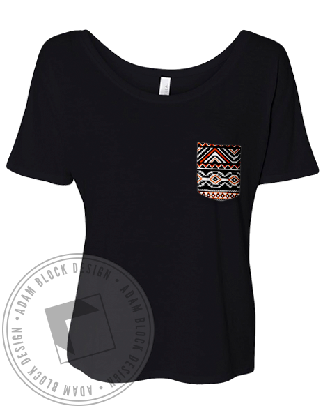 Panhellenic Gave Up Our Letters Pocket Tee-Adam Block Design
