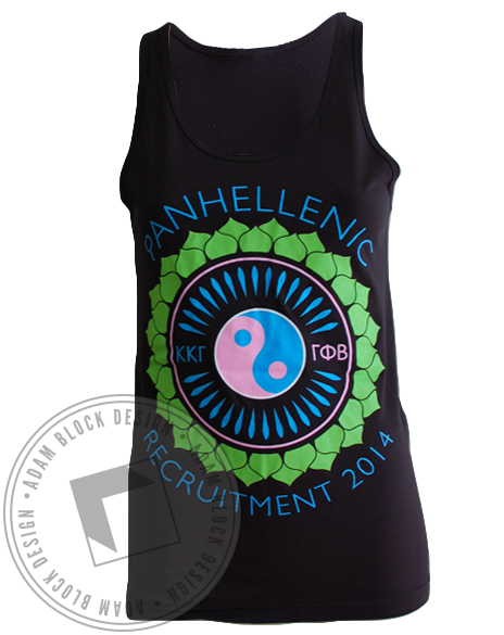 Panhellenic Recruitment Together Tank-gallery-Adam Block Design