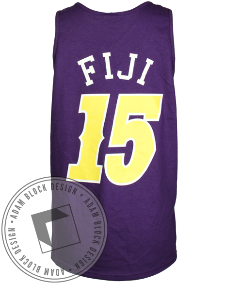 Phi Gamma Delta FIJI Slope Day Tank-Adam Block Design